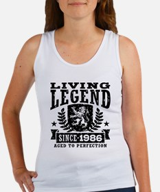Living Legend Since 1986 Women's Tank Top
