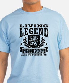 Living Legend Since 1986 T-Shirt