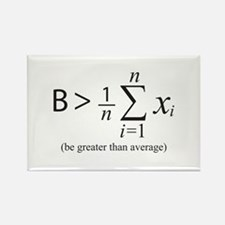 Be greater than average Magnets