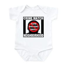 Crime Watch Neighborhood Infant Bodysuit