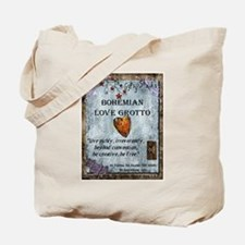 Bohemian Love Grotto Logo Tote Bag