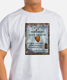 Bohemian Love Grotto Logo T-Shirt