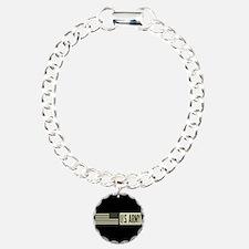 U.S. Army: U.S. Army (Bl Charm Bracelet, One Charm