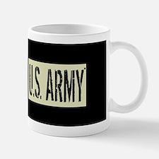 U.S. Army: U.S. Army (Black Flag) Small Small Mug