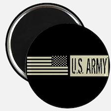 U.S. Army: U.S. Army (Black Flag) Magnet