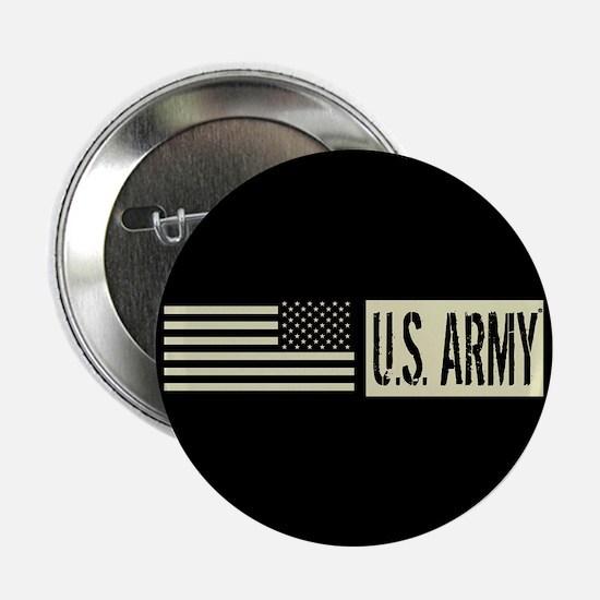 "U.S. Army: U.S. Army (Black 2.25"" Button (10 pack)"