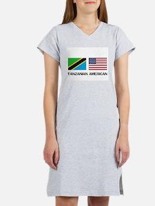 Cute Tanzania Women's Nightshirt