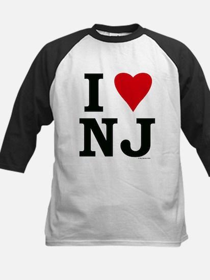 I love NJ Kids Baseball Jersey