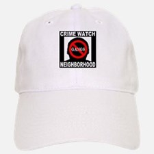 No Gangs Baseball Baseball Cap