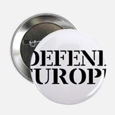 """Defend Europe 2.25"""" Button"""