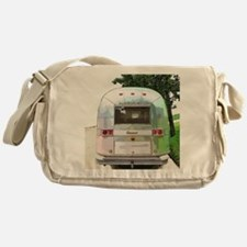 Vintage Airstream Messenger Bag