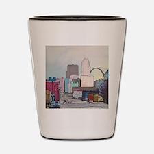 St. Louis Cityscape Shot Glass