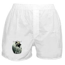 Keeshond Dad2 Boxer Shorts