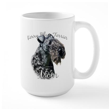 Kerry Blue Mom2 Large Mug
