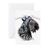Kerry blue terrier Greeting Cards (10 Pack)
