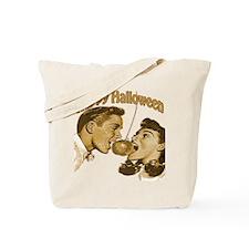 HAppy Halloween Couple Tote Bag