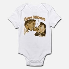 HAppy Halloween Couple Infant Bodysuit