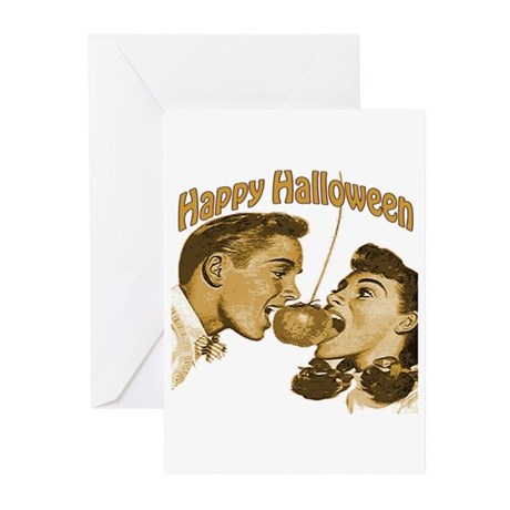 HAppy Halloween Couple Greeting Cards (Pk of 20)