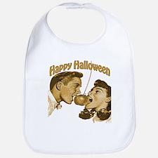 HAppy Halloween Couple Bib