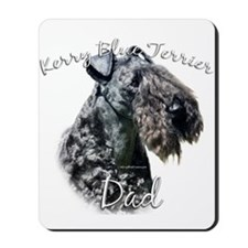 Kerry Blue Dad2 Mousepad