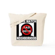 No Bad Guys Tote Bag