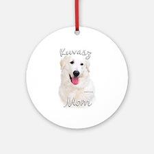 Kuvasz Mom2 Ornament (Round)