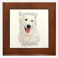Kuvasz Mom2 Framed Tile