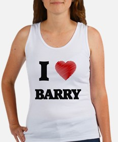 I Love Barry Tank Top