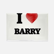 I Love Barry Magnets