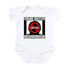 No Drugs Infant Bodysuit