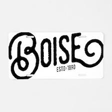 Boise, Idaho Aluminum License Plate