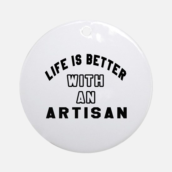 Artisan Designs Round Ornament