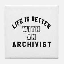Archivist Designs Tile Coaster