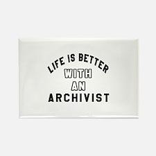 Archivist Designs Rectangle Magnet
