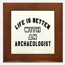 Archaeologist Designs Framed Tile