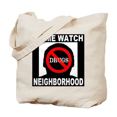 No Drugs Tote Bag