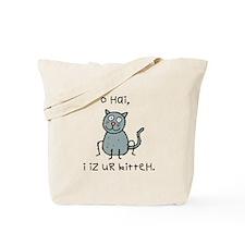 O Hai Kitteh Tote Bag