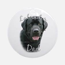 Lab Dad2 Ornament (Round)