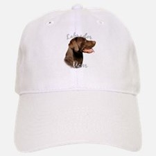Lab Mom2 Baseball Baseball Cap
