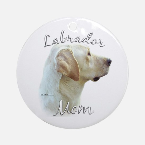 Lab Mom2 Ornament (Round)