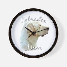 Lab Mom2 Wall Clock