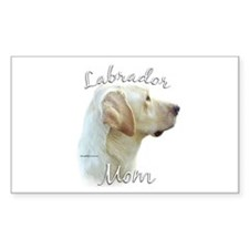 Lab Mom2 Rectangle Decal