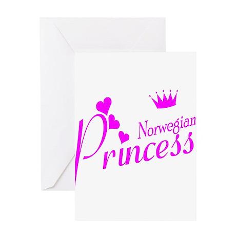 Norwegian Princess Greeting Card