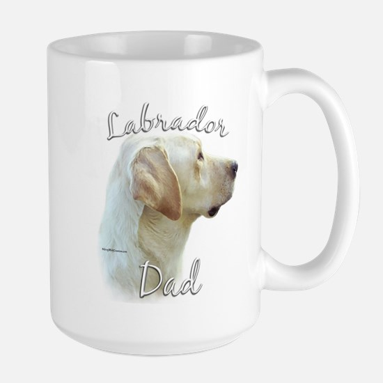 Lab Dad2 Large Mug