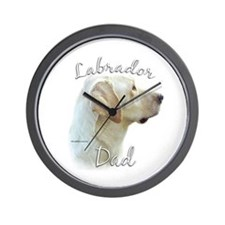 Lab Dad2 Wall Clock