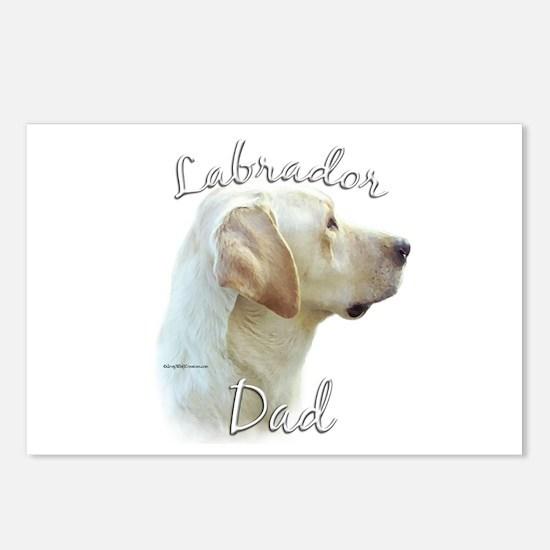 Lab Dad2 Postcards (Package of 8)