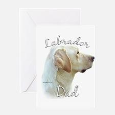 Lab Dad2 Greeting Card