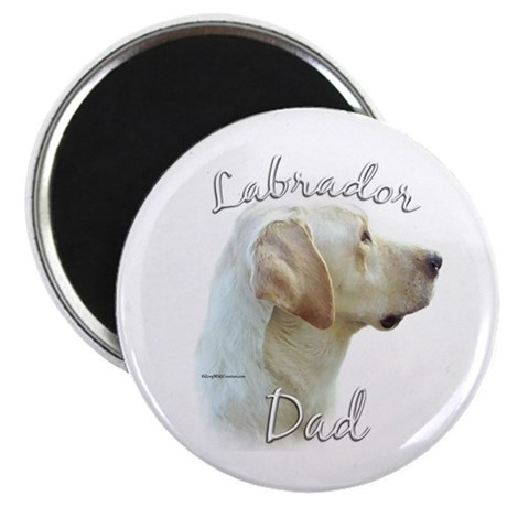 Lab Dad2 Magnet