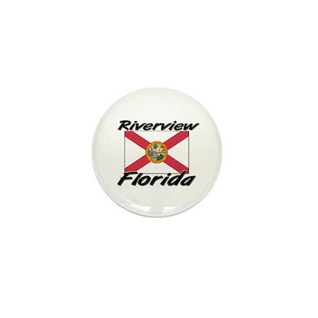 Riverview Florida Mini Button