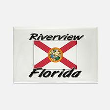 Riverview Florida Rectangle Magnet